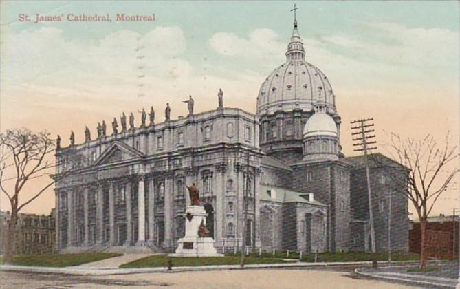 Canada Montreal St James Cathedral 1910