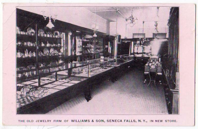 Old Jewelry Firm, William & Son, Seneca Falls NY