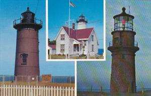 Lighthouses Of Martha's Vineyard Cape Cod Massachusetts