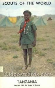 Tanzania Boy Scouts of America, Scouting Postcard, Post Cards, Copyright 1968...