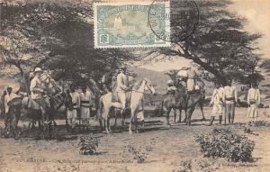 Ethiopia Harrar, Une Caravane partant pour Addis Ababa 1913