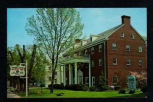 VA General Wayne Motor Inn WAYNESBORO VIRGINIA Postcard