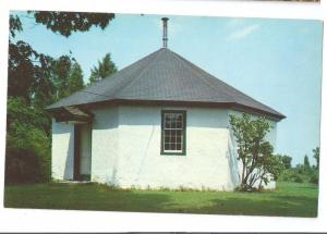 Birmingham PA Postcard Octagon School House Chester County
