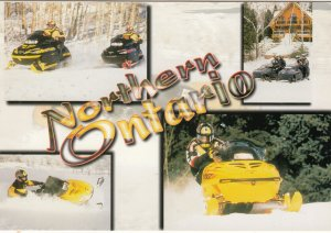 Snowmobile Trails , Ontario , Canada , 1950-70s