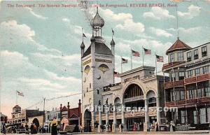 Revere Beach, Massachusetts, MA, USA Postcard The Boulevard 1907 Missing Stamp