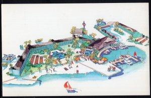 Florida Waterfront Sheraton Bel Air ST PETERSBURG Art Design Chrome 1950s-1970s