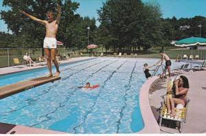 Wagon Wheel Motel and Restaurant, Swimming Pool, ALEXANDRIA, Virginia, 40-60s