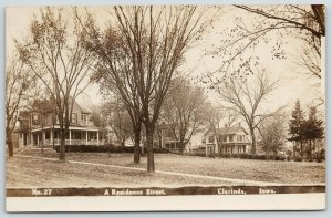 Clarinda Iowa~Residence Street Mansions~Jesse Forney~Familiar Houses~1908 RPPC