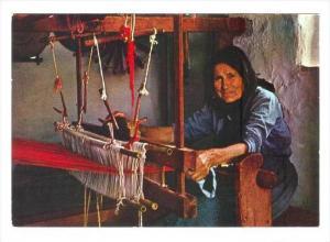 Woman on loom, Greece, 50-70s