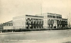 CT - Manchester, State Armory