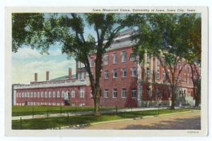 Iowa Memorial Union, University of Iowa, Iowa City, IA, Linen