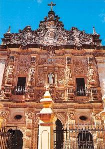 Brazil Salvador Facade of Ordem Terceira of Sao Francisco