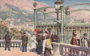 Tucks Ascenseur Du Casino Monte Carlo