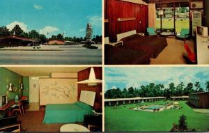 Florida Jacksonville Howard Johnson's Motor LOdge & Restaurant US1 South