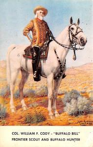 Colonel Wm.F. Cody Buffalo Bill Circus Unused