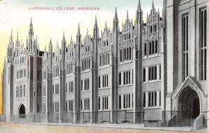Vintage Scotland Postcard, Marischall College, Aberdeen D48