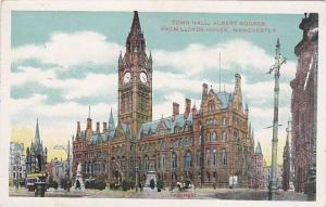 Town Hall, Albert Square, From Lloyds House, Manchester (Lancashire), England...