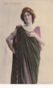 English actress and singer MIss Lily Brayton, 00-10s