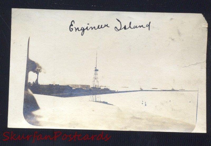 PHILIPPINE ISLANDS THE PHILIPPINES ENGINEER ISLAND WWI ERA REAL PHOTO PHOTOGRAPH