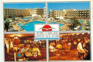 Old Vintage Postcards Hotel  Costa Sur Apts Spain # 2187A