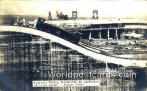 Real Photo Locomotivwe in Operation, Gatun Locks Panama Canal Panama Writing ...