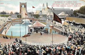 Vanity Fair, Rhode Island, RI, USA Postcard Vanity Fair Showing the Chute 1908