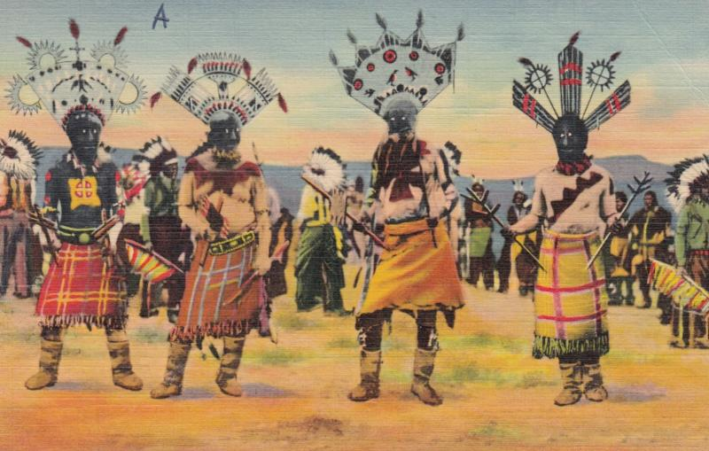 Devil Dance of the Apache Indians , 30-40s