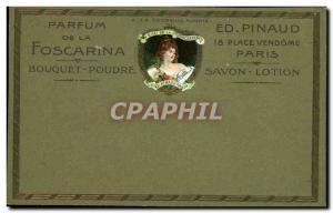 Old Postcard Scent of Foscarina Bouquet Powder Ed Pinaud Place Vendome Paris ...