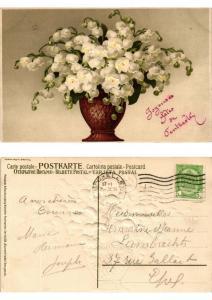 CPA Blumenfrieden Meissner & Buch Litho Serie 1519 (730479)