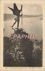 Postcard 1125 Old Lake of Annecy (Haute Savoie) Saint Michel has duingt