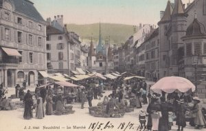 NEUCHATEL, Switzerland, PU-1913 ; Le Marche