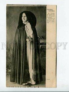 3171794 PORTUGAL COSTUMES AZORES CCLIX girl vintage postcard