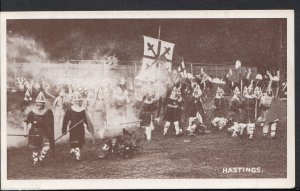 Hampshire Postcard - Aldershot Tattoo - Pageant - The Battle of Hastings  RS557
