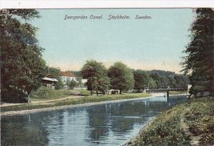 Swedeen Stockholm Deergarden Canal