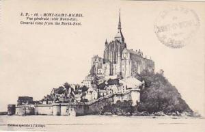 France Mont-Saint-Michel Vue generale Cote Nord Ests