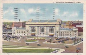 Union Station Kansas City Missouri 1941