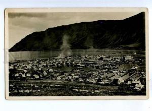 192371 ICELAND Siglufjorour LIGHTHOUSE Vintage photo postcard
