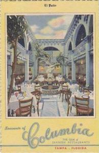 Florida Tampa Columbia Restaurant The Patio Curteich