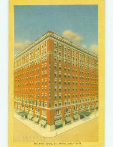 Linen SAVERY HOTEL Des Moines Iowa IA HQ3377