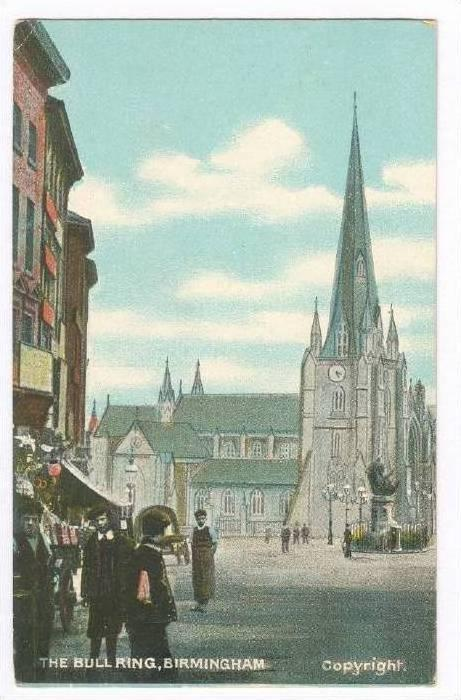 The Bull Ring, Birmingham, England, UK, 1900-1910s