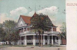 Wisconsin Fond Du Lac The Elks Club House