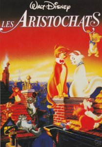 Les Aristochats Aristocats Eurodisney Walt Disney Cinema Poster Postcard
