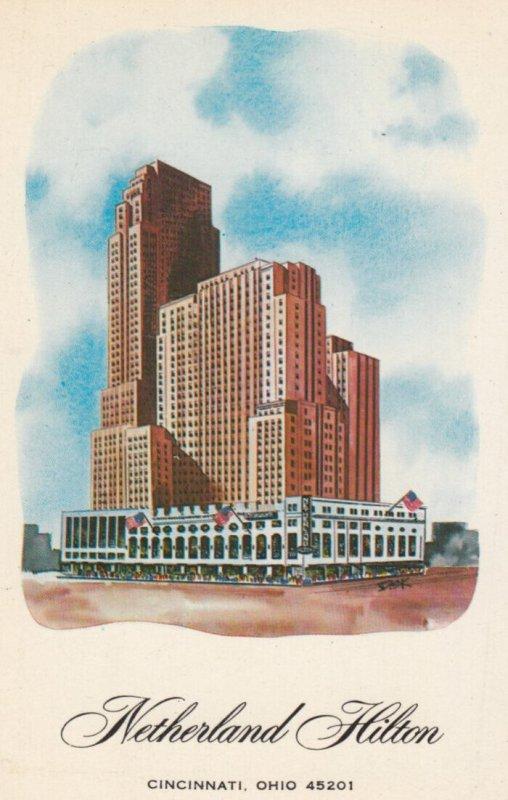 CINCINNATI , New York , 1950-60s ; Netherland Hilton Hotel