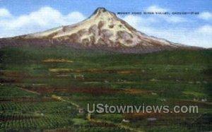Mt Hood River Valley - Oregon