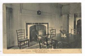 Inside The Dining Room, Logan Mansion,  Stenton  Germantown, Pennsylvania, 19...