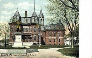 Edward Little High School in Auburn, Maine