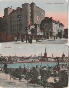 lot of 2 GERMANY Düsseldorf Vintage postcards
