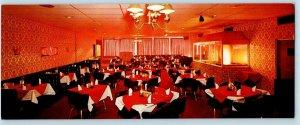 HORSEHEADS, New York ~ HOLIDAY INN Elmira-Horseheads Dining Room Long Postcard
