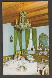The Governor's Dining Room Fortress Of Louisbourg, Nova Scotia - 1977 Used