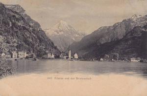 Fluelen und der Bristenstock, Uri, Switzerland, 00-10s